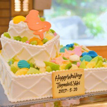 見ても楽しい・食べても美味しい!ウェディングケーキ特集