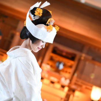 日本伝統の花嫁姿