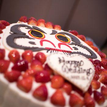 和のウエディングケーキ