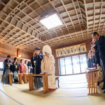 ~筑波山神社の結婚式~